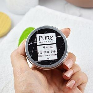 Prah za izbeljivanje zuba - Prirodna kozmetika Pure Natural